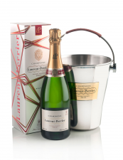 Champagne Laurent Perrier Vasque lederen handvat