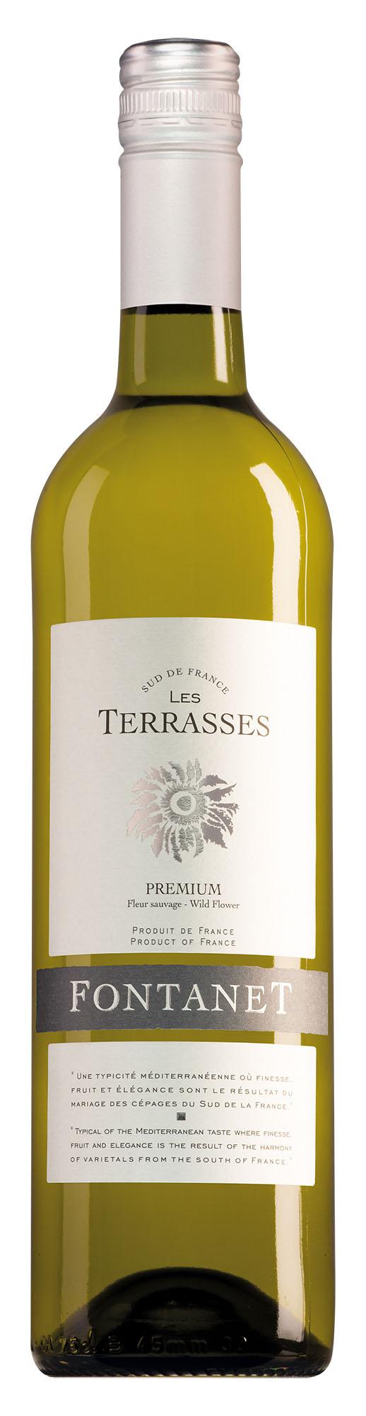 Fontanet Vin de France Les Terrasses wit