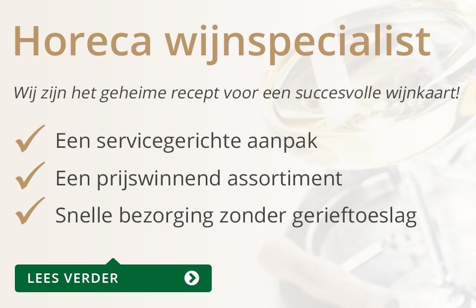 Horeca Wijnspecialist - grijs/goud