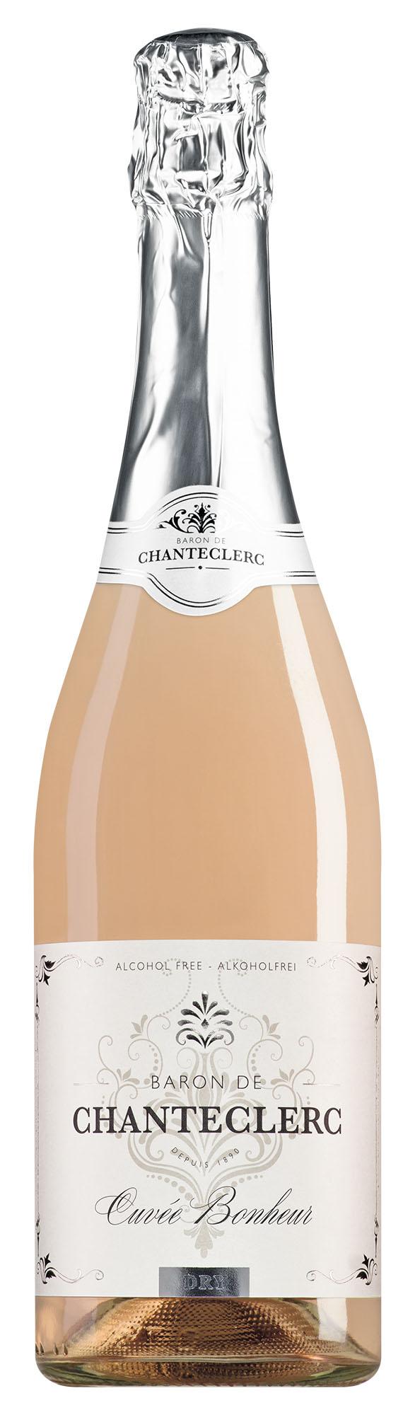 Baron de Chanteclerc mousseux rosé alcoholvrij