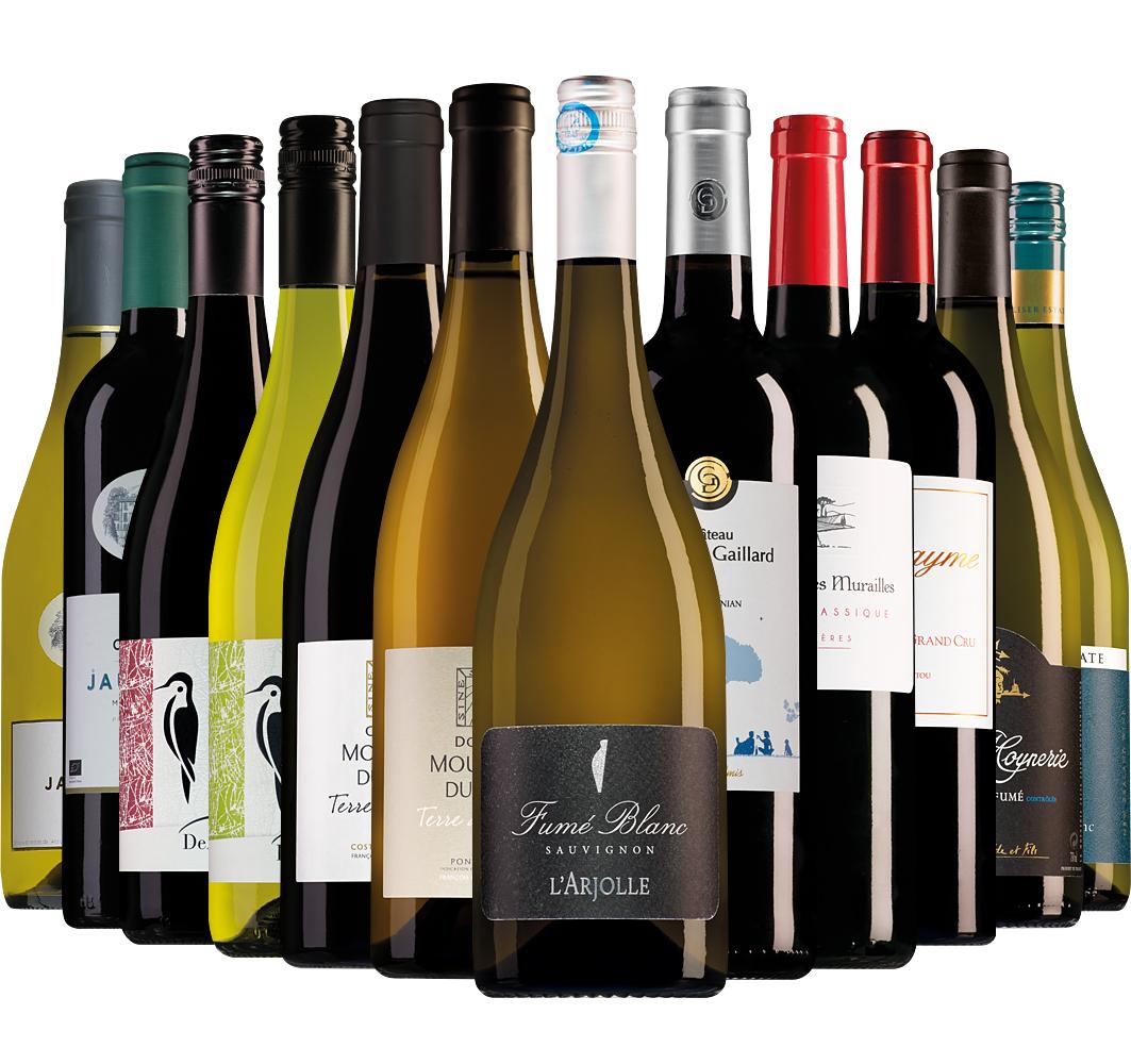 Wijnpakket Wijnbericht maart (12 flessen)