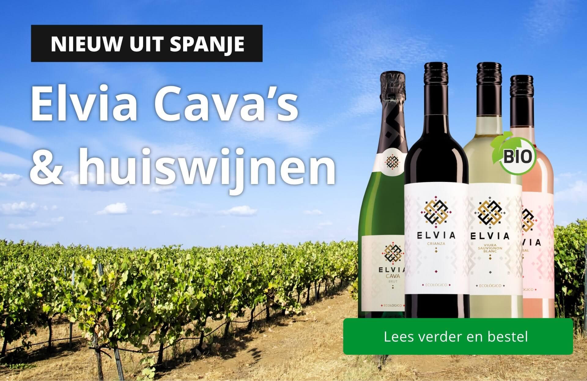 Elvia: Heerlijke Spaanse Cava's & huiswijnen