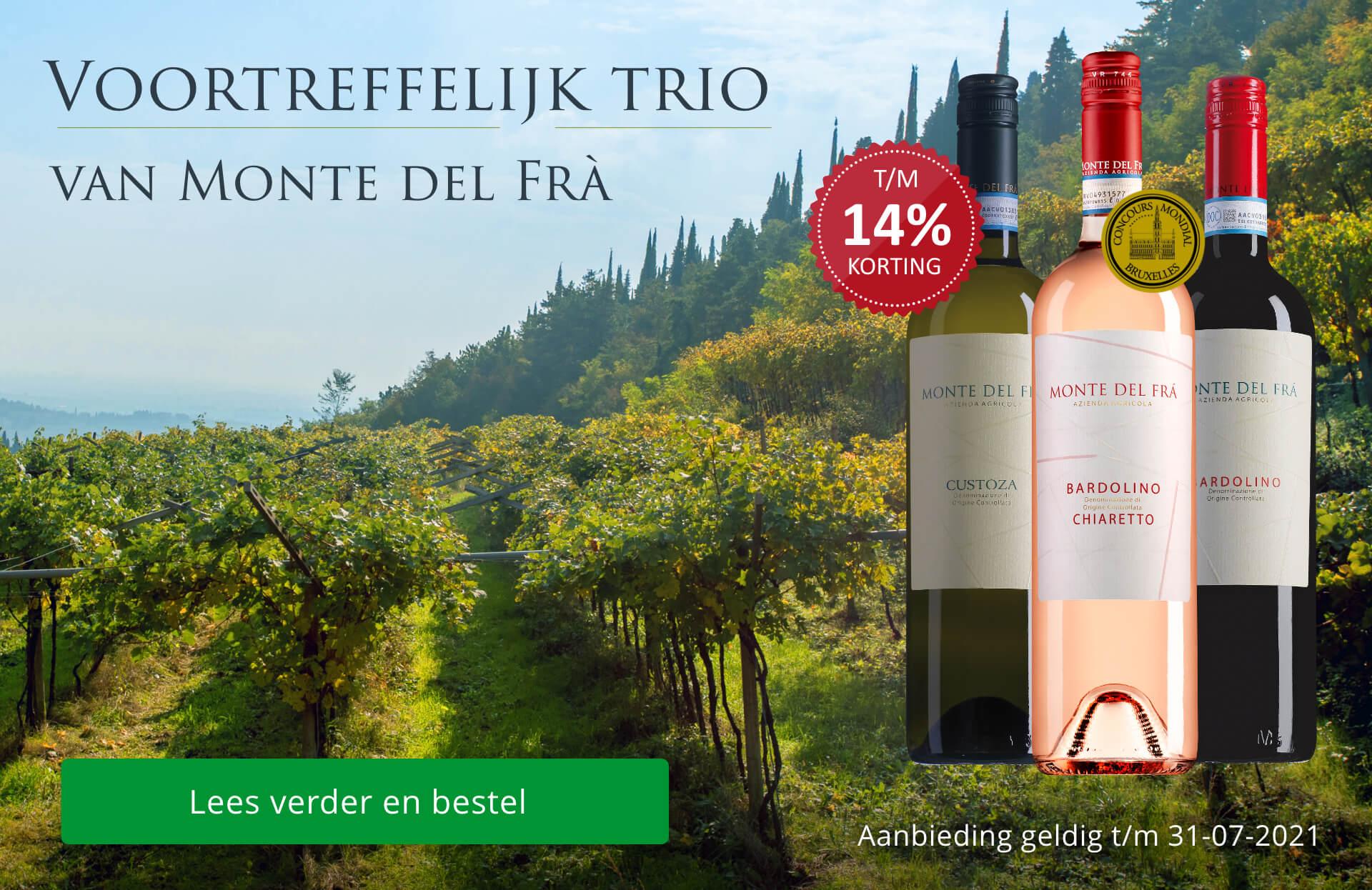 Voortreffelijk trio van Monte del Frà
